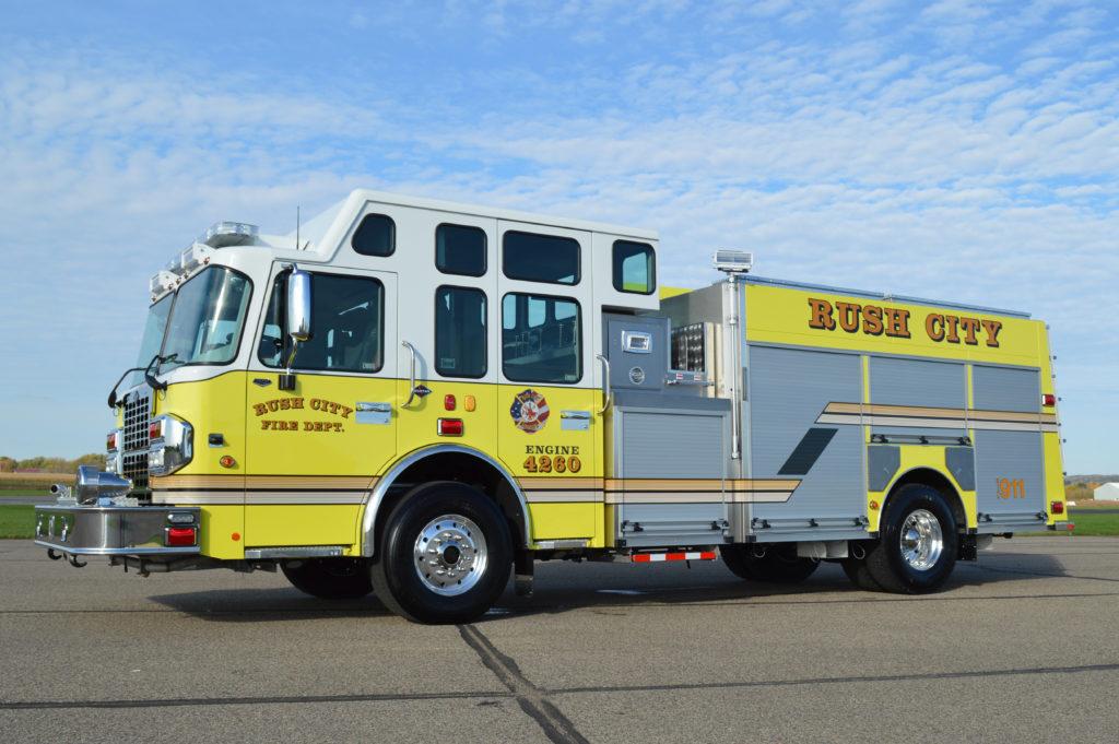 CustomFIRE Pumper Rush City, MN