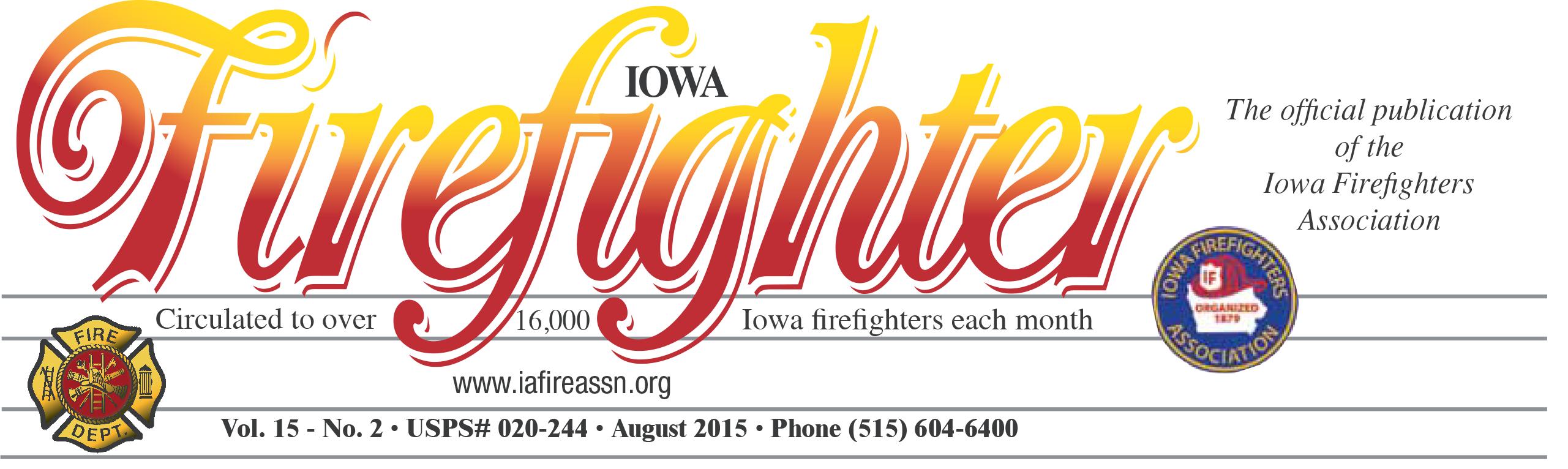 Iowa Firefighter Logo